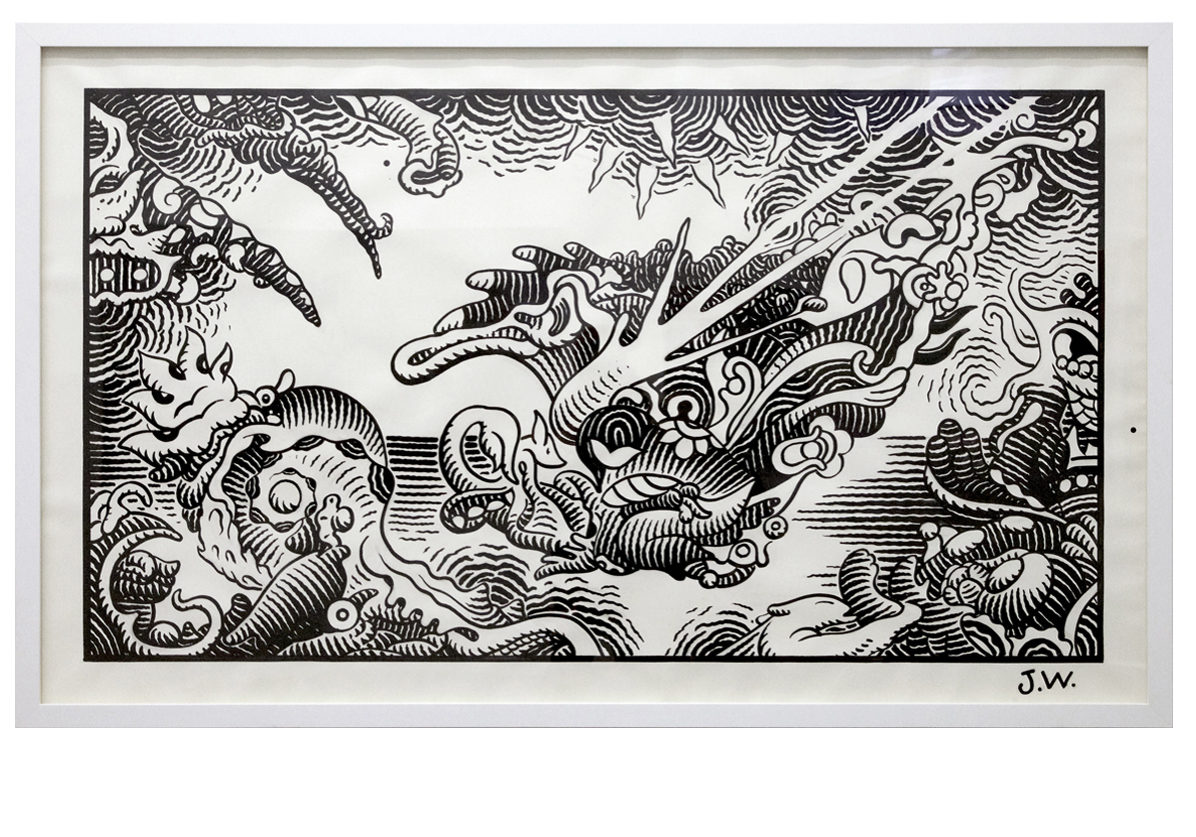 Jim-Woodring-Floating-1